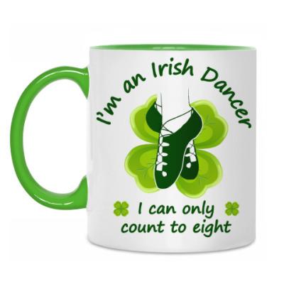 Кружка 'Irish dancer count'