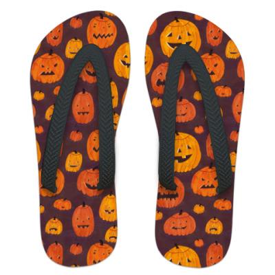 Шлепанцы (сланцы) Хеллоуин