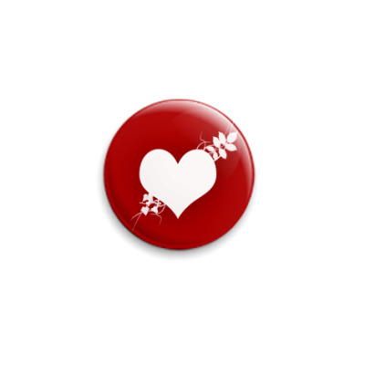 Значок 25мм Дела сердечные