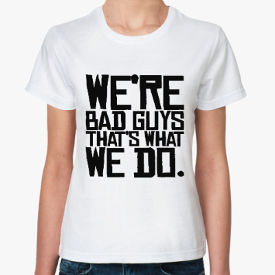 Классическая футболка Отряд самоубийц