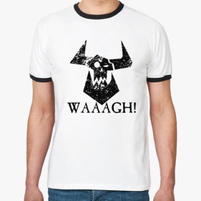 Футболка Ringer-T Waaagh!