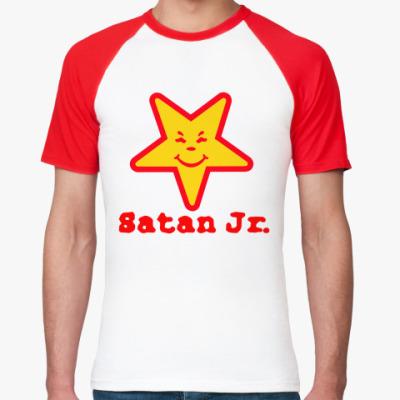 Футболка реглан Satan