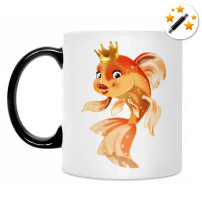 Кружка-хамелеон Золотая рыбка