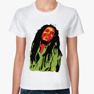 Классическая футболка Marley Жен футболка (бел)