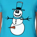 Неправильный  снеговик
