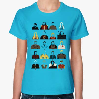 Женская футболка Игры Престолов