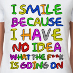I Smile  футболка