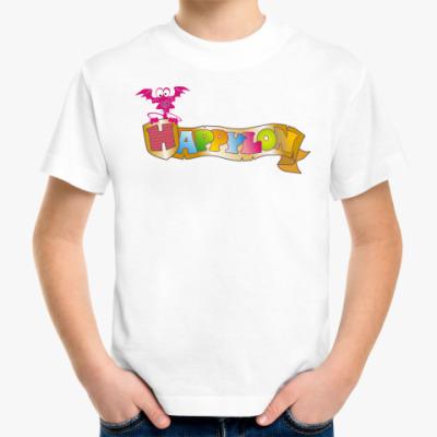 Детская футболка хэппилон