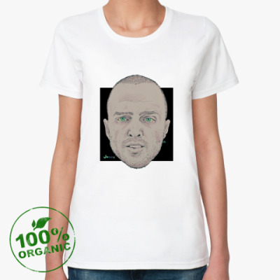 Женская футболка из органик-хлопка  Jesse Pinkman