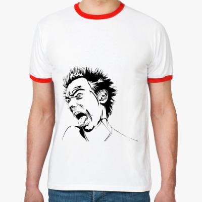 Футболка Ringer-T Псих