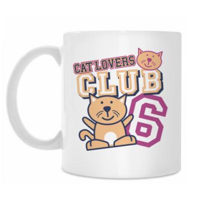 Кружка Клуб любителей кошек
