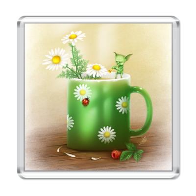 Магнит Ромашковый чай