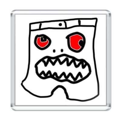 Магнит  'Гневные шорты'