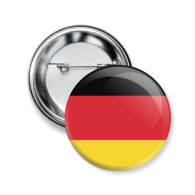 Значок 50мм Deutschland
