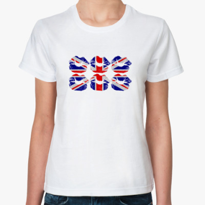 Классическая футболка LondonKISS
