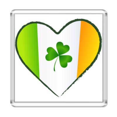 Магнит I love Ireland