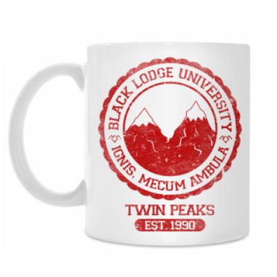Кружка Twin Peaks University символ