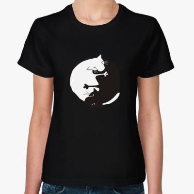 Женская футболка Инь-Ян