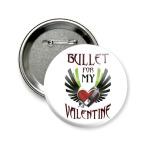 Значок 58 мм Bullet for my Valentine