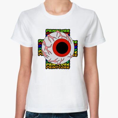 Классическая футболка Printcore Eye