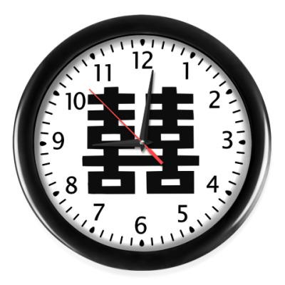 Настенные часы Двойное счастье