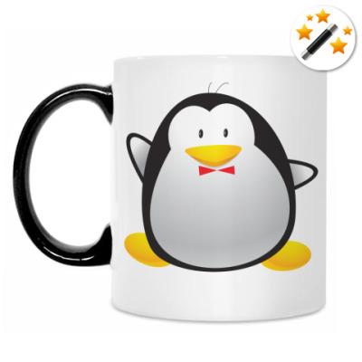 Кружка-хамелеон Пингвин