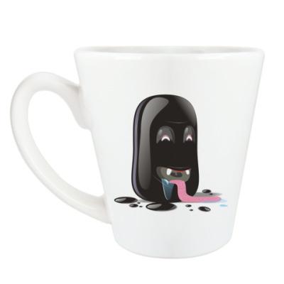 Чашка Латте Чучело по имени Питч