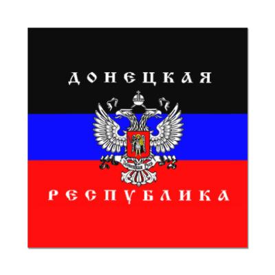 Наклейка (стикер) Донецкая Народная Республика