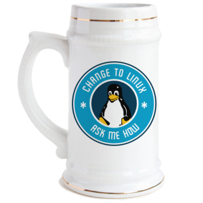 Change to Linux пингвин Tux