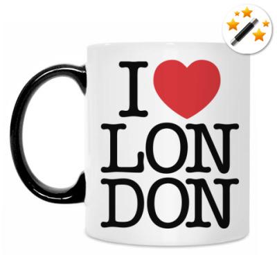 Кружка-хамелеон I love London!