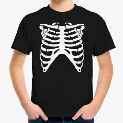 Детская футболка Скелет