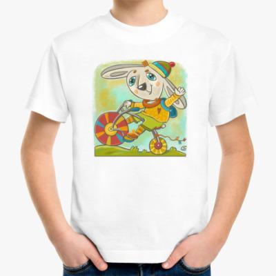Детская футболка Маленький велосипедист