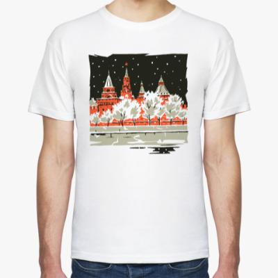 Футболка СНЕЖНАЯ МОСКВА - Кремль