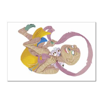 Наклейка (стикер) Мумия