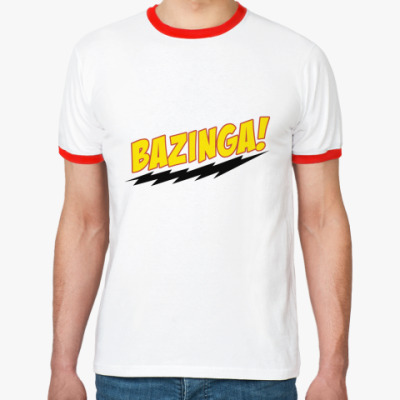 Футболка Ringer-T Bazinga