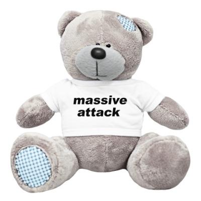 Плюшевый мишка Тедди Massive Attack