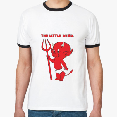 Футболка Ringer-T The little devil