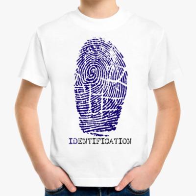 Детская футболка индефикация