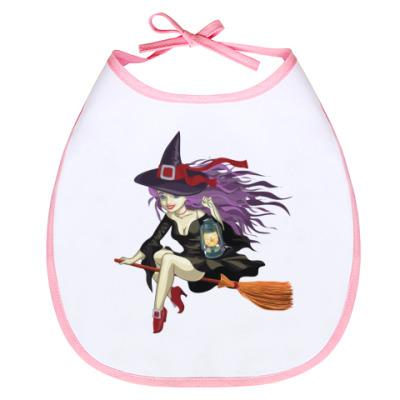Слюнявчик Ведьмочка