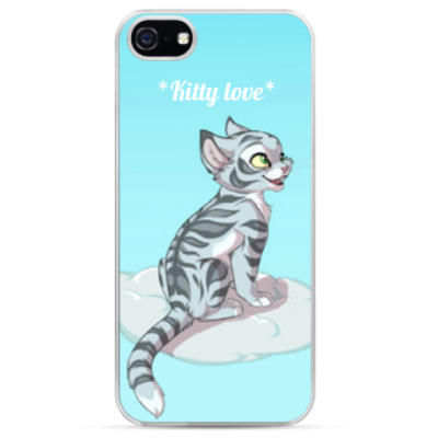 Чехол для iPhone kitty love