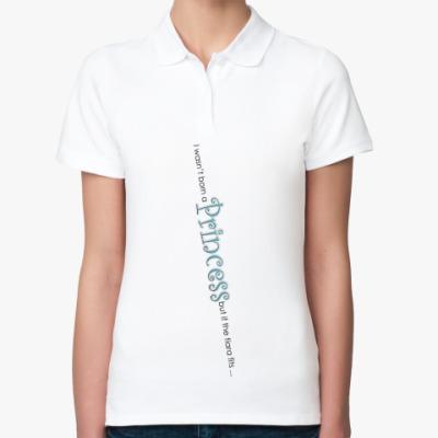 Женская рубашка поло  ПРИНЦЕССА
