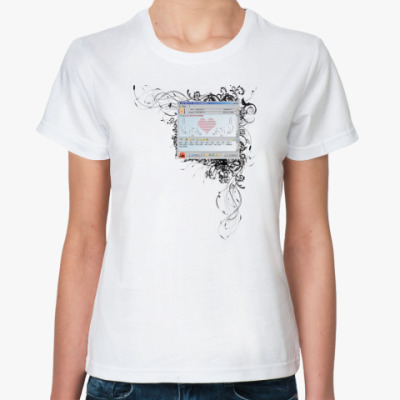 Классическая футболка ICQ