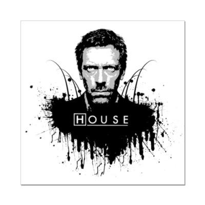 Наклейка (стикер)  'House'