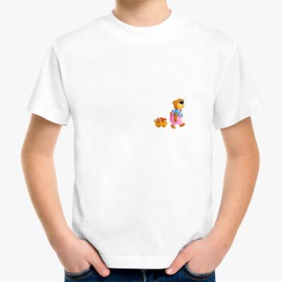 Детская футболка Медведь-грибник