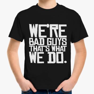 Детская футболка Отряд самоубийц