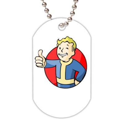 Жетон dog-tag Fallout