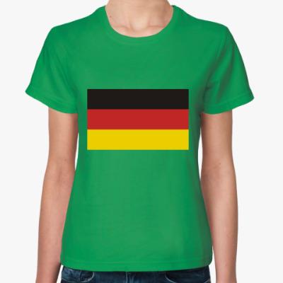 Женская футболка Deutschland
