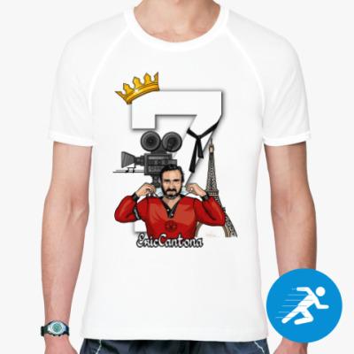 Спортивная футболка Король Эрик, спорт, белая
