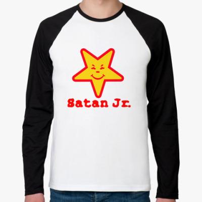 Футболка реглан с длинным рукавом Satan
