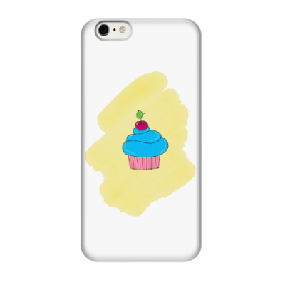 Чехол для iPhone 6/6s 'Кекс'